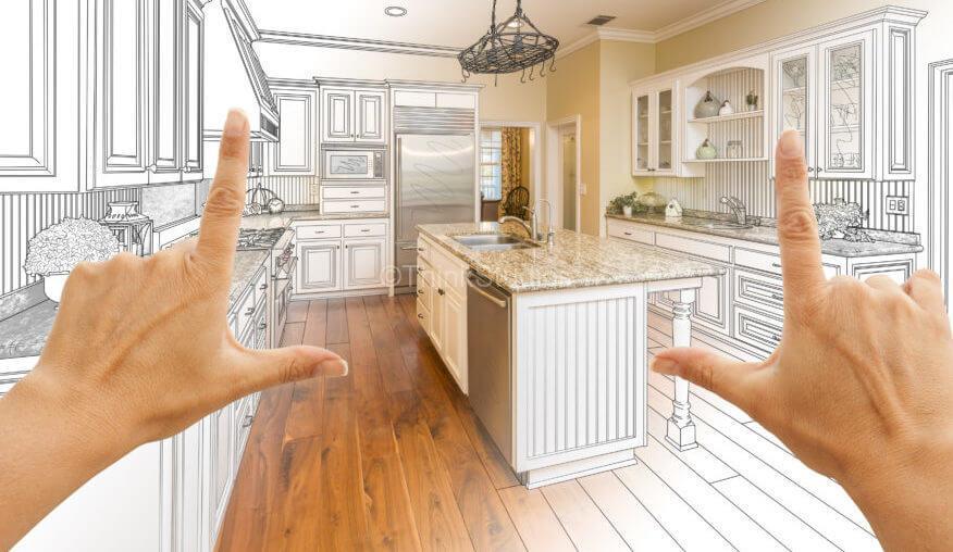 Modular Kitchen in Hyderabad - kitchen design drawing