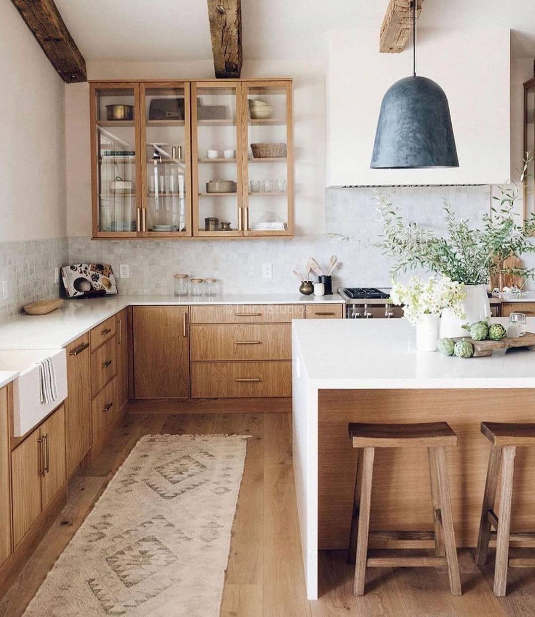 Beautiful Earthy Kitchen