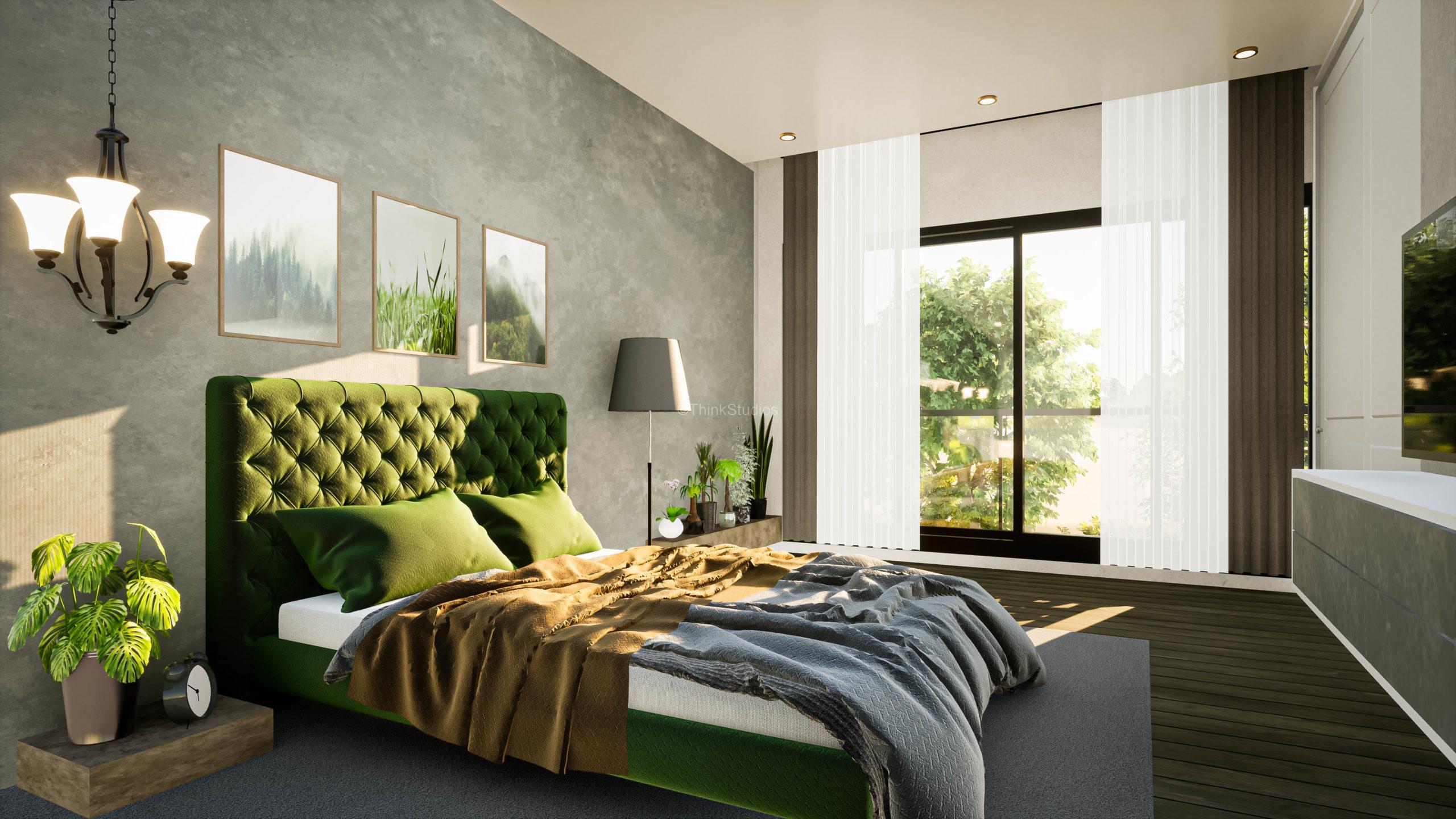 New Construction – Farm House_Bedroom-4