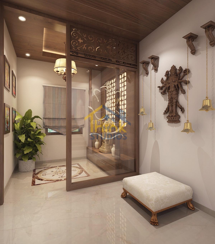 Mayfair Villa_architect_pooja room_view