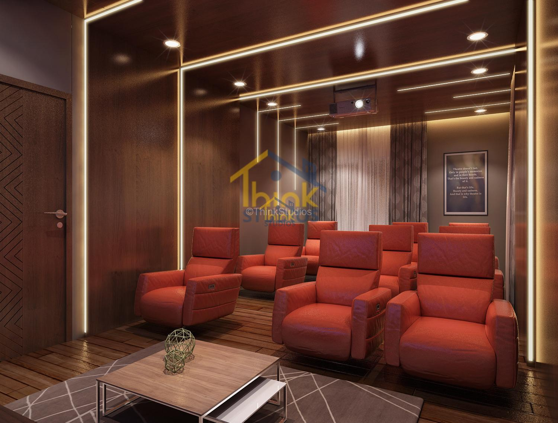 Mayfair Villa_architect_Home theator