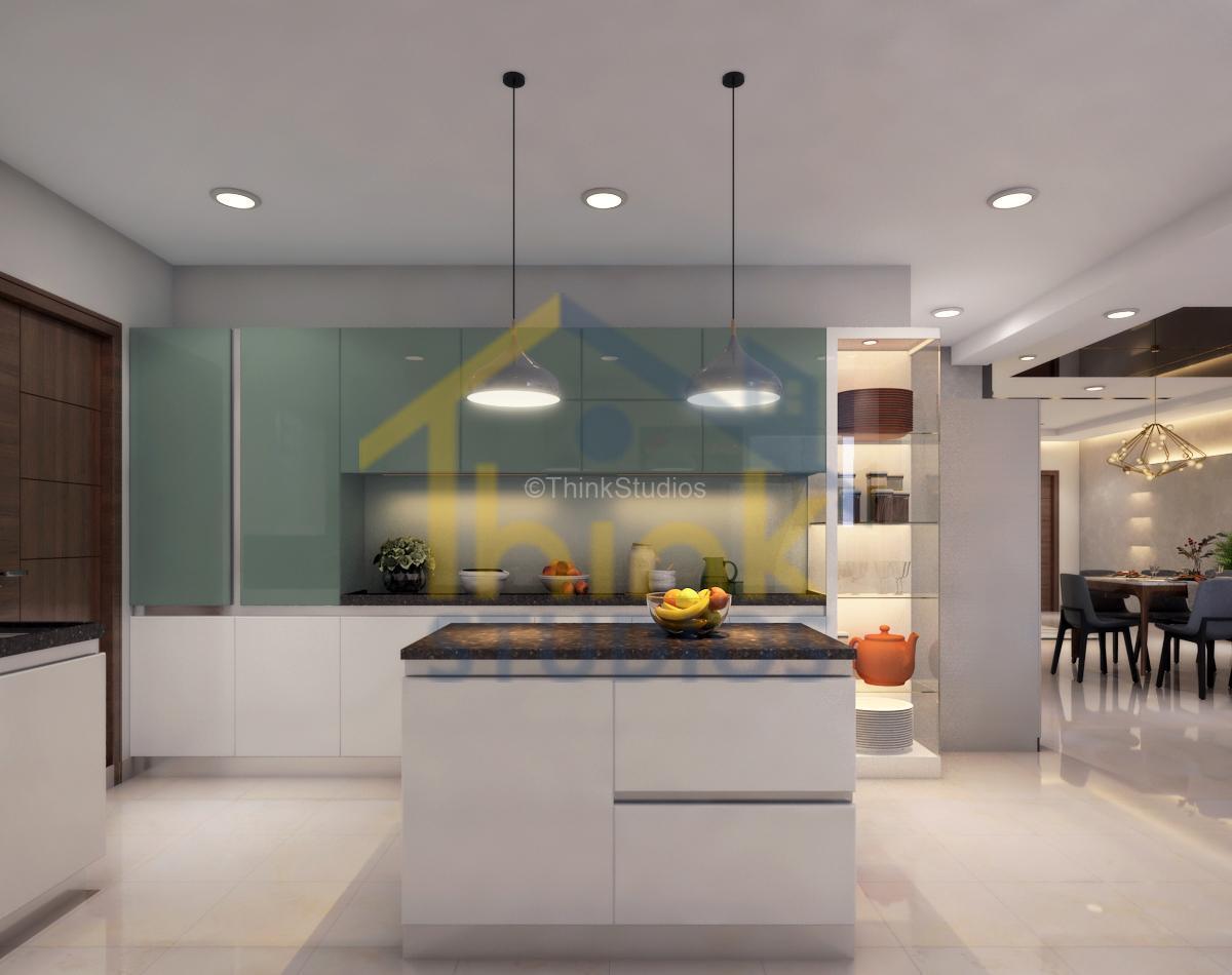 Rajapushpa Atria_interior design_kitchen