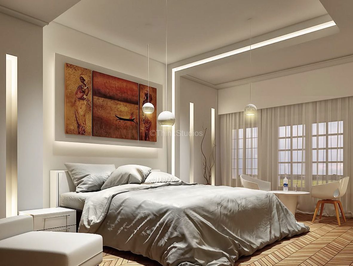 Renovation of Corporate Guest House Interiors_bedroom1