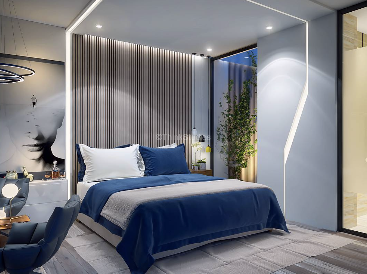 Renovation of Corporate Guest House Interiors_bedroom2