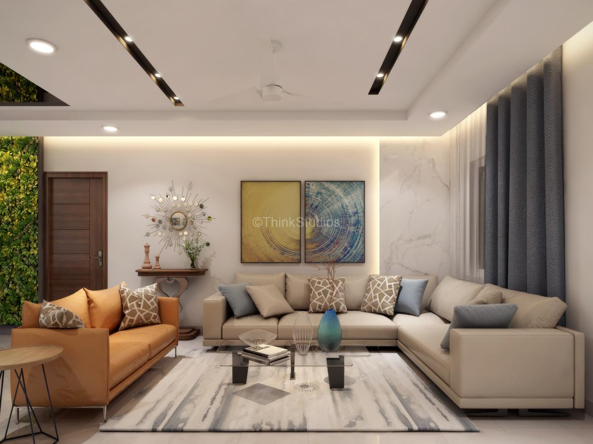 Interior Designing in Hyderabad - Residential Apartment Interiors_thinkstudios