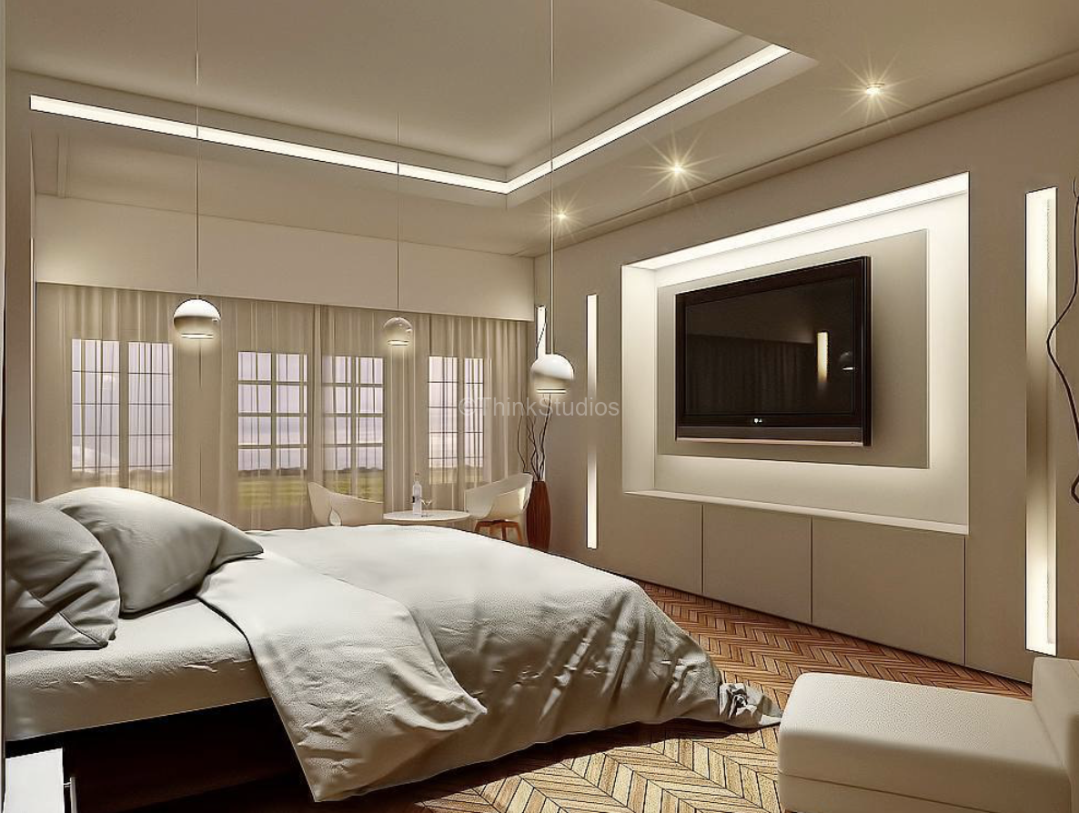 Renovation of Corporate Guest House Interiors_Bedroom3