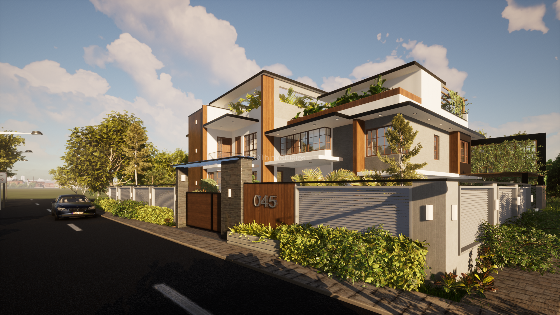 Architecture Design and Interior Design_Shuja Retreat_Vishakhapatnam_HYDERABAD_Front View