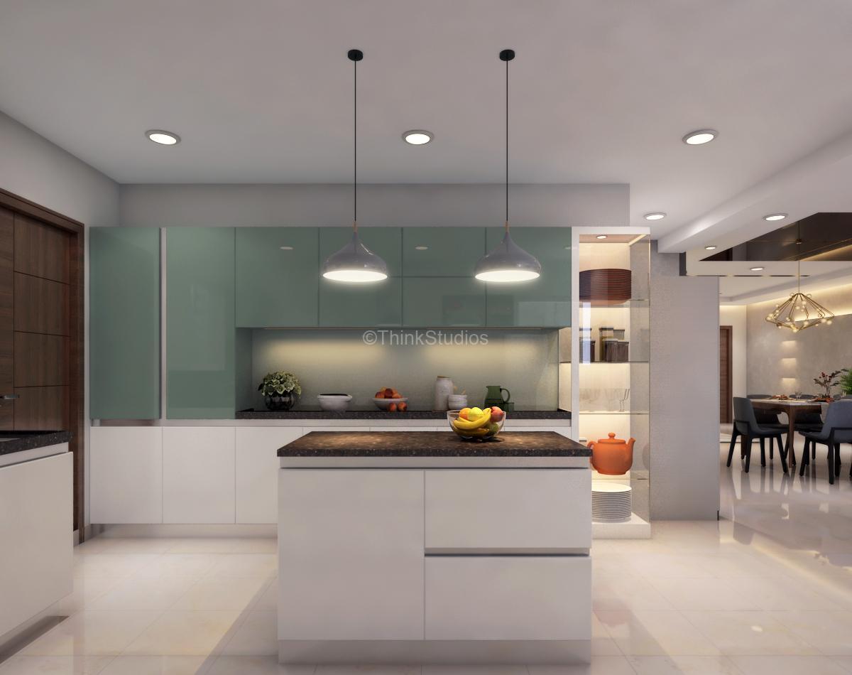 Residential Apartment Interiors_kitchen